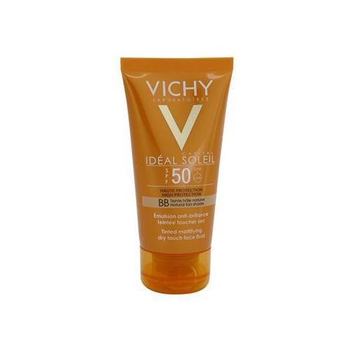 Vichy  idéal soleil capital matujący krem bb spf 50 (tinted mattifying dry touch face fluid) 50 ml