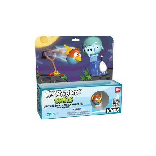 72434 Klocki K'nex Angry Birds Space, Ptak Błyskawica i Zamrożona Świnia w Hełmie
