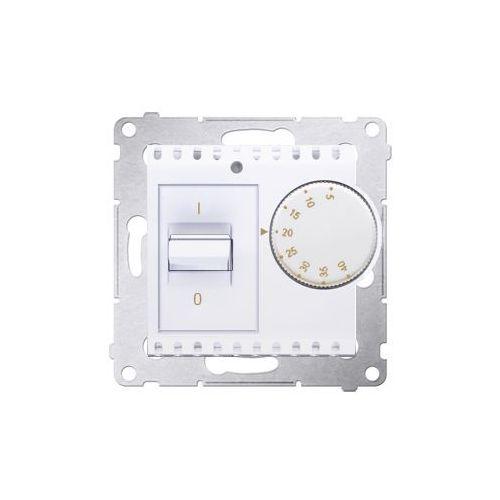 Regulator podtynkowy Kontakt-Simon 54 DRT10W.02/11 temperatury z czujnikiem wewnętrznym biały