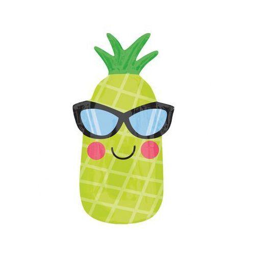 Twojestroje.pl Balon ananas zielony 26'' 66cm (0026635350402)