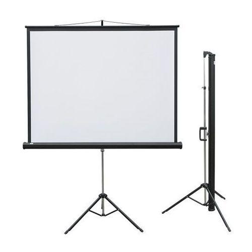 2x3 Ekran projekcyjny profi na trójnogu 150x150 cm (1:1)