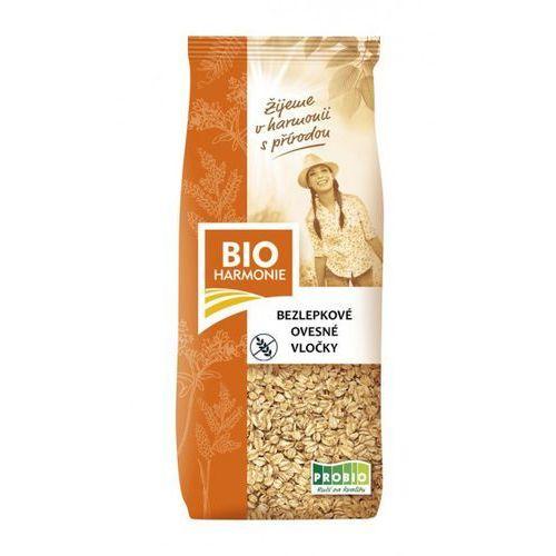 Płatki owsiane bezglutenowe bio 250g marki Bioharmonie