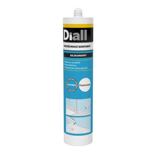 Silikon sanitarny Diall 300 ml bezbarwny (3663602854401)