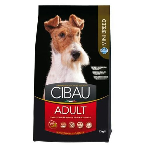 Farmina cibau adult mini karma dla psów ras małych 800g