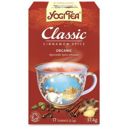 Herbata klasyczna bio (yogi tea) 17 saszetek po 2,2g wyprodukowany przez Yogi tea, usa