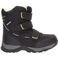 Buty zimowe dla małych chłopców JOBMW301Z - czarny, (J4Z17-JOBMW301) JOBMW301 - czarny