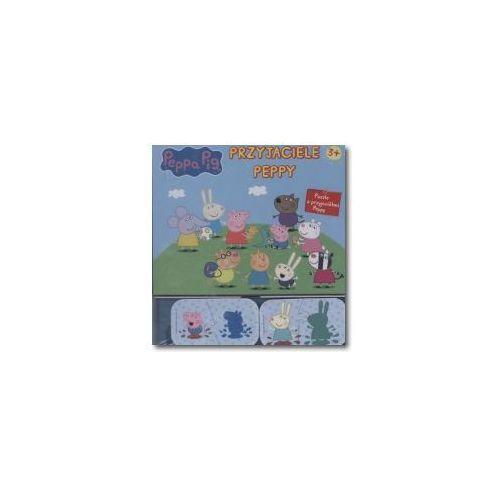 Puzzle. Pepa Pig. Przyjaciele Peppy + zakładka do książki GRATIS (9788379941353)