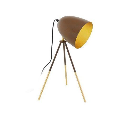 Eglo 49518 - lampa stołowa chester 1 1xe27/60w/230v (9002759495183)