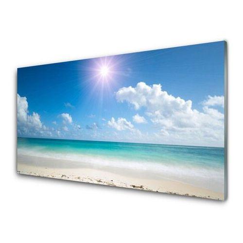 Obraz Akrylowy Morze Plaża Słońce Krajobraz