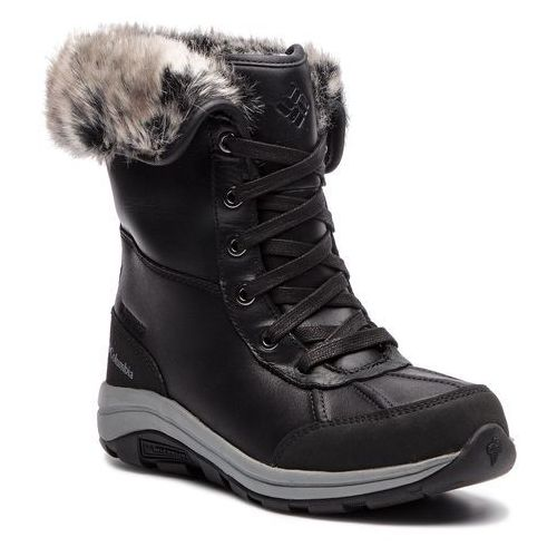 Śniegowce COLUMBIA - Bangor Omni Heat BL2743 Black/Monument 010, kolor czarny