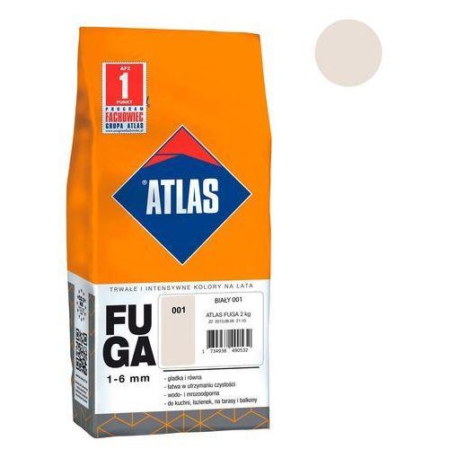 Fuga cementowa 001 biały 2 kg marki Atlas