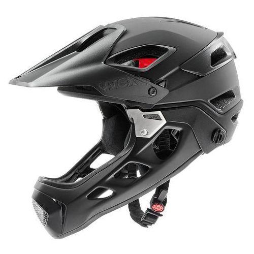 Uvex Kask rowerowy jakkyl hde fullface l 56-61 cm czarny