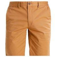 Burton Menswear London Szorty tabacco, kolor brązowy