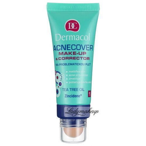 Dermacol - Acnecover Make-Up & Corrector - Podkład i korektor - 3
