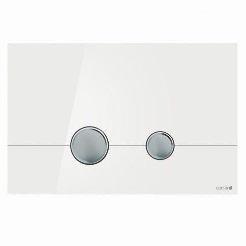 przycisk stero szkło białe k97-368 marki Cersanit