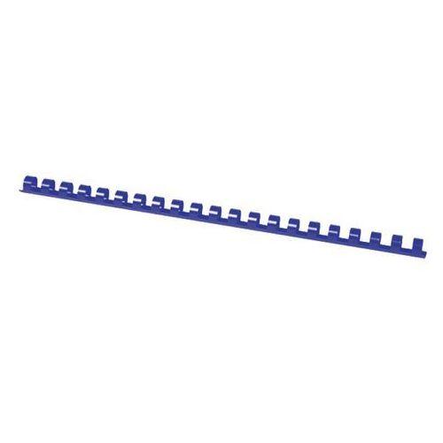 Office products Grzbiety do bindowania , a4, 12mm (95 kartek), 100 szt., niebieskie (5901503674079)