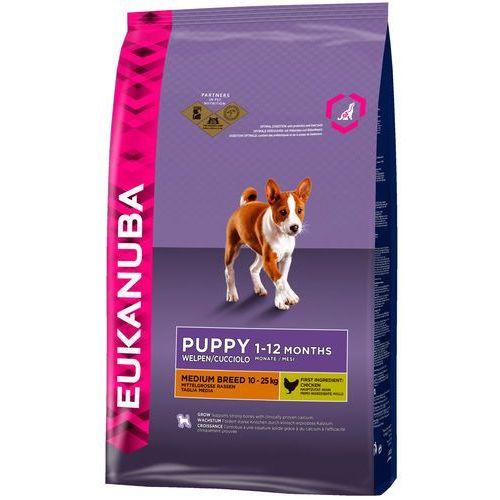 Eukanuba Puppy&Junior Medium 15kg, 1280