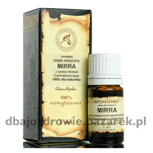 NATURALNY OLEJEK MIRROWY (MIRRA), 5 ml, STRES, DEPRESJA