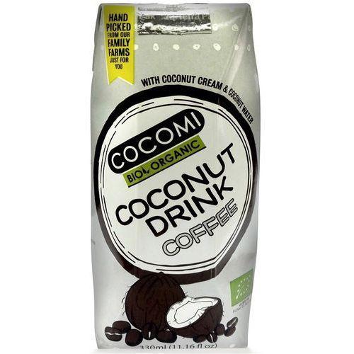 Cocomi (wody kokosowe, oleje kokosowe, śmietanki) Napój kokosowy o smaku kawowym bio 330 ml - cocomi