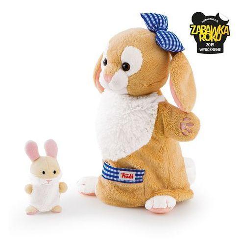 Pacynki na rękę, królik i króliczek - mama i dziecko marki Trudi