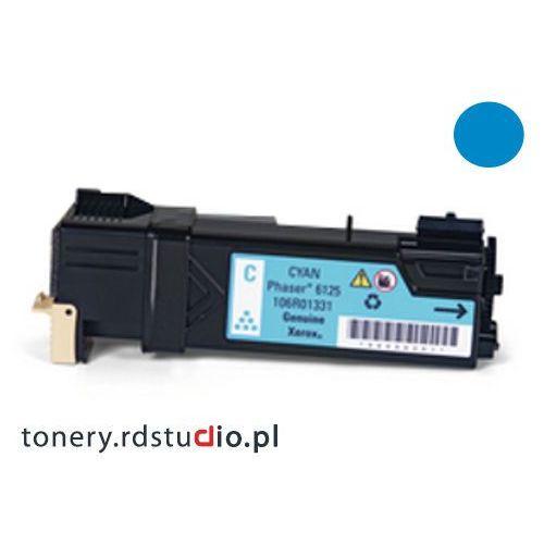 Toner do Xerox Phaser 6125 - Zamiennik Xerox 106R01335 Cyan / Błękitny