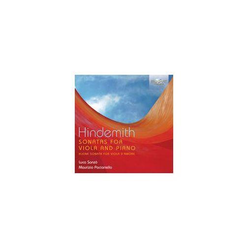 Hindemith: Sonatas For Viola & Piano
