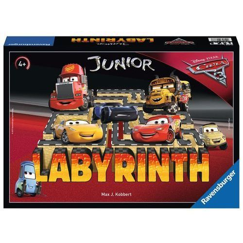 Ravensburger Gra labirynt junior, auta 3 -