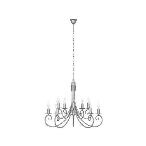 Lampa wisząca Nowodvorski Silverado 5420 10x60W E14 chrom, 5420