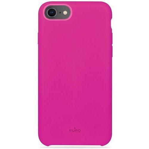 PURO ICON Cover - Etui iPhone 8 / 7 / 6s / 6 (różowy) Limited edition, kolor różowy