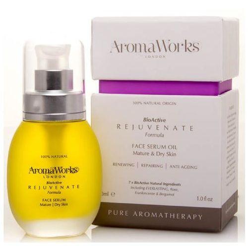 rejuvenate face serum oil 30ml wyprodukowany przez Aromaworks