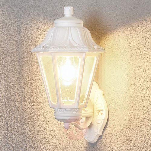 Fumagalli Świecąca do góry latarenka biała lampa zewnętrzna