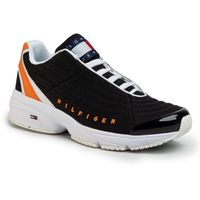 Sneakersy TOMMY JEANS - Heritage Tommy Jeans Sneaker EM0EM00441 Black BDS, kolor czarny