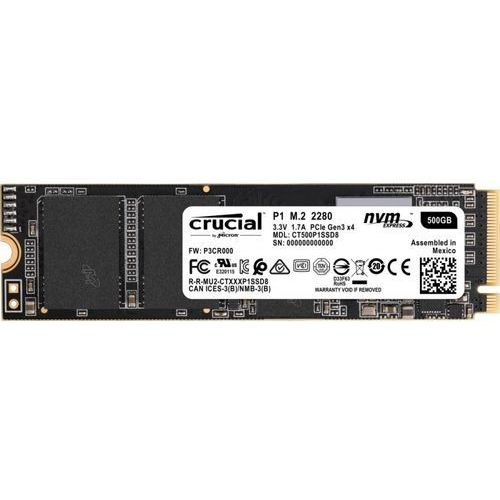 Crucial Dysk SSD P1 1000GB M.2 PCIe NVMe [CT1000P1SSD8]