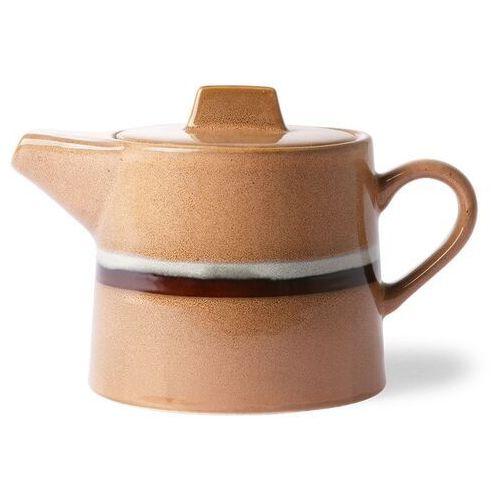 HK Living Ceramiczny dzbanek na herbatę 70's: stream ACE6881
