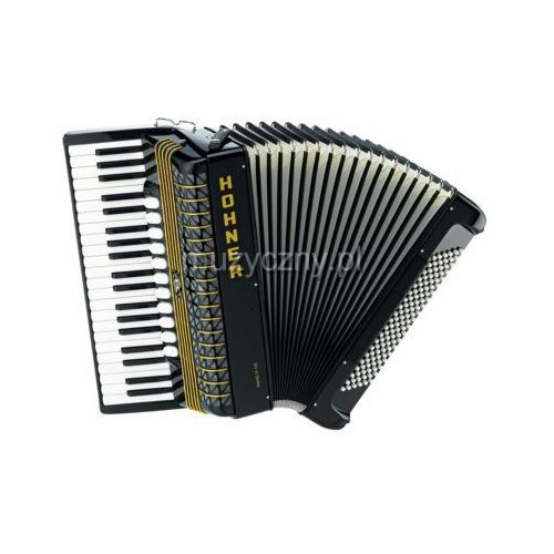 Hohner  atlantic iv 120 akordeon (czarny)