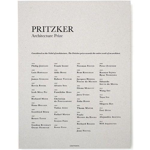 Plakat Pritzker Prize, AFFPRI01