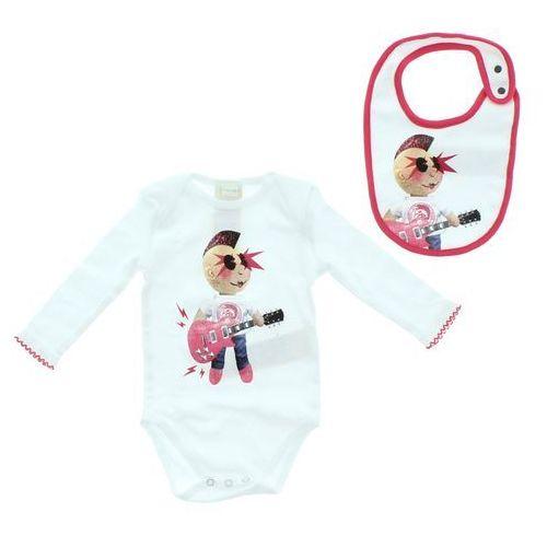 zestaw dziecięcy dla niemowląt różowy biały 3 miesiące marki Diesel