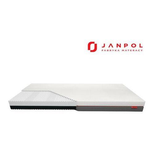 Janpol gemini – materac piankowy, rozmiar - 200x190, pokrowiec - grey wyprzedaż, wysyłka gratis, 603-671-572
