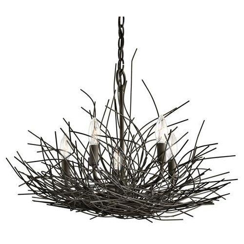 Elstead Żyrandol kl/organique5 - lighting - rabat w koszyku (5024005268611)