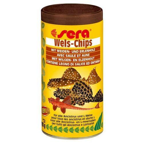 Sera wels - chips - tonące płatki dla glonojadów - saszetka