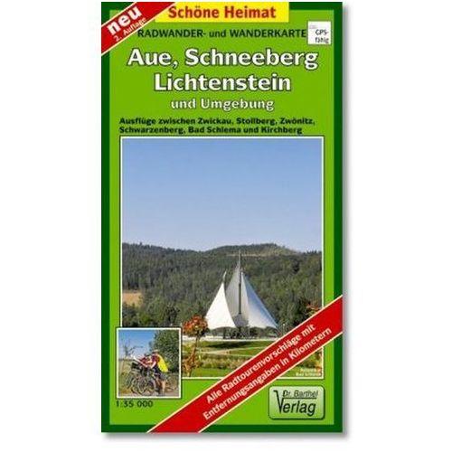 Doktor Barthel Karte Aue, Schneeberg, Lichtenstein und Umgebung (9783895911187)