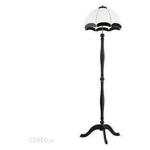 sikorka 1150912 lampa podłogowa stojąca 3x60w e27 złoty/brązowy marki Alfa