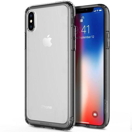 Obliq Naked Shield - Etui iPhone X (Black), kolor czarny