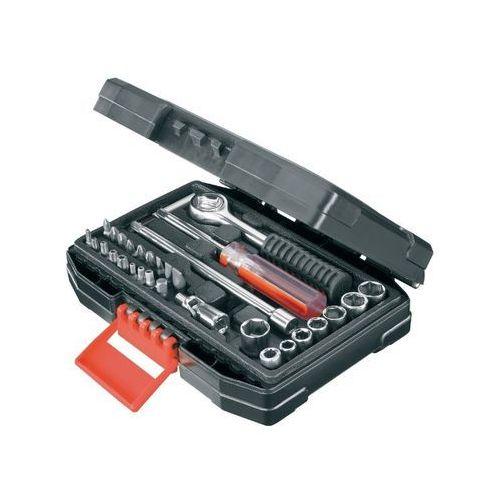Zestaw kluczy nasadowych i bitów black&decker a7142-xj (33 elementy) marki Black & decker