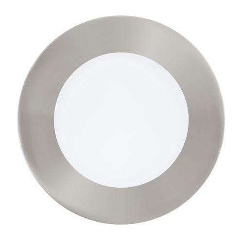 Plafon fueva 1 94521 lampa oprawa wpuszczana downlight oczko 1x5,5w led nikiel mat / biały okr. marki Eglo