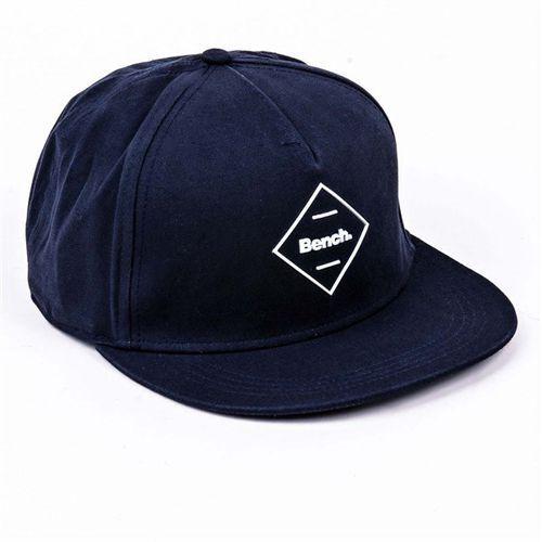 czapka z daszkiem BENCH - Flat Peak Cap Dark Navy Blue (NY031) rozmiar: OS, kolor niebieski