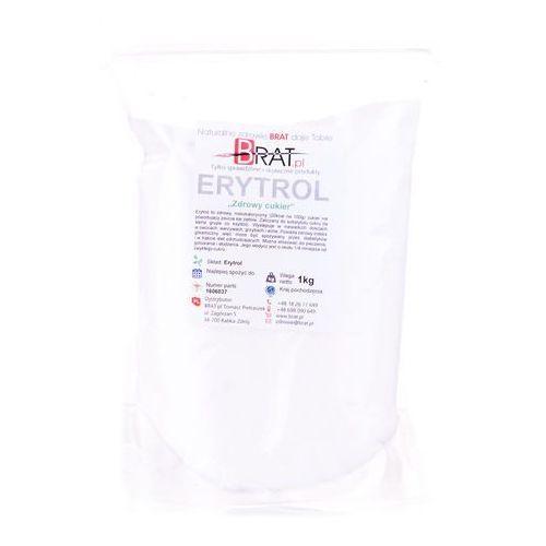 Erytrol - słodzik niskokaloryczny - 1kg - marki Brat.pl