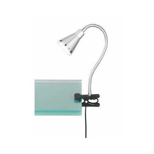 Reality arras lampa z klipsem led tytan, 1-punktowy - nowoczesny - obszar wewnętrzny - arras - czas dostawy: od 3-6 dni roboczych (4017807244120)