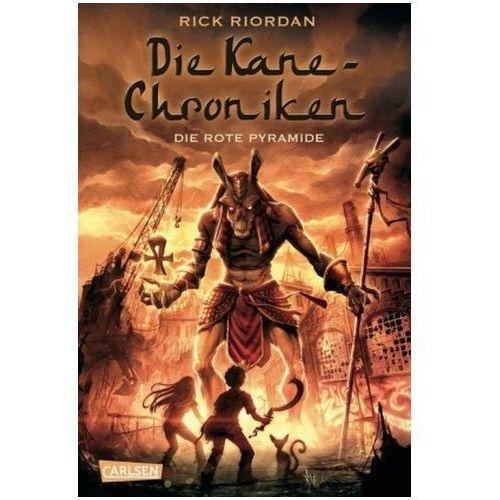 Die Kane-Chroniken - Die rote Pyramide (9783551555878)