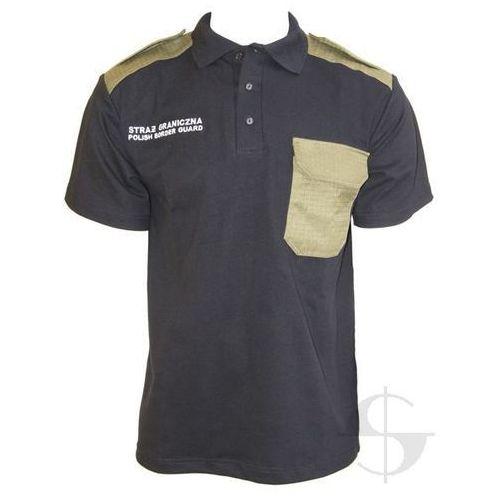 """Koszulka polo straży granicznej """"polish border guard"""" marki Sortmund"""